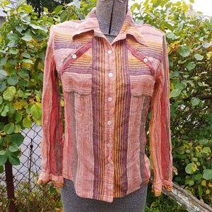 Super vintage 70s Button Down Shirt
